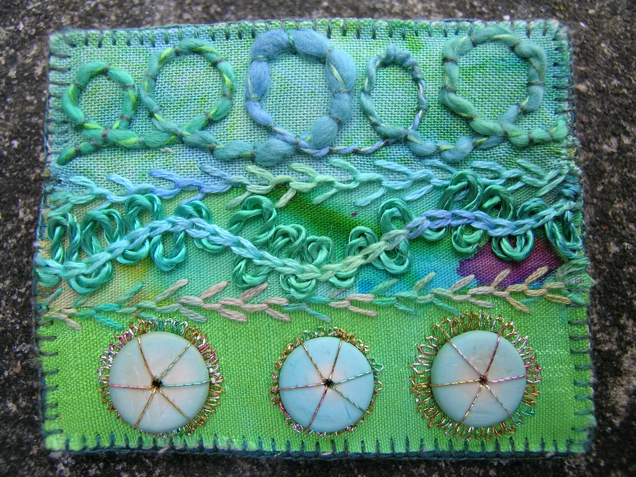 Finished brooches 3