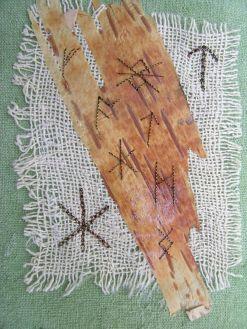 Runes and birch bark 4