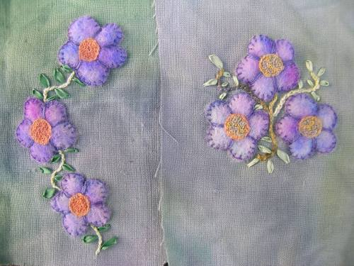 Felted flowers 2c