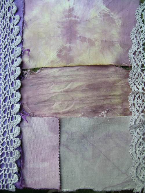 Red cabbage dyed journal 1