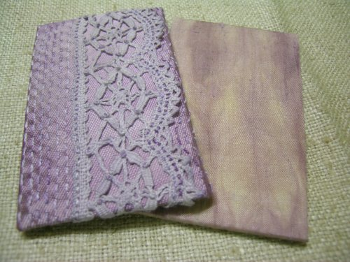 Red cabbage dyed journal 5