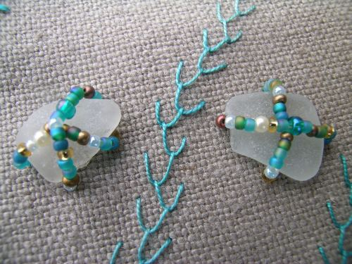 Sea glass beading 4