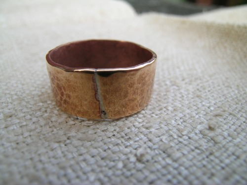 First hammered ring 2