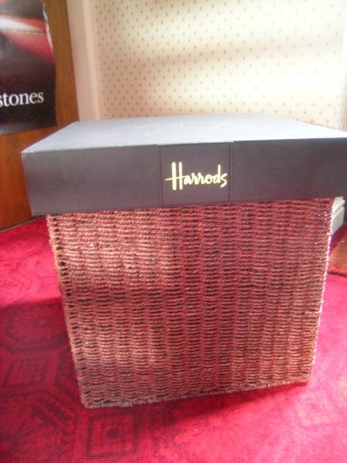 My Harrods Thread Hamper