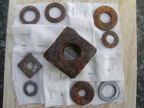 Rusted folded block 2