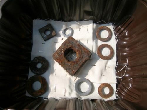 Rusted folded block 3