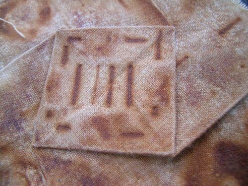 Rusted folded block 5