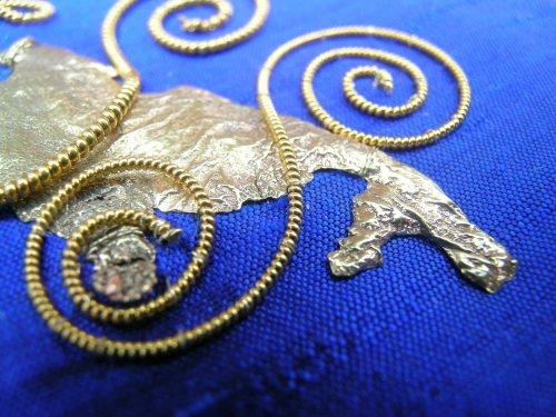 Blue spirals 5
