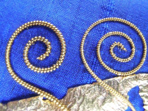 Blue spirals 2