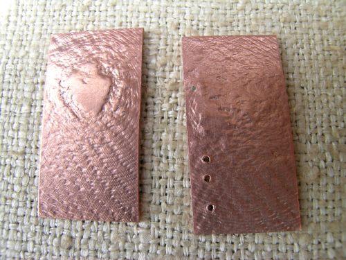 Silk and gilding metal book locket 2