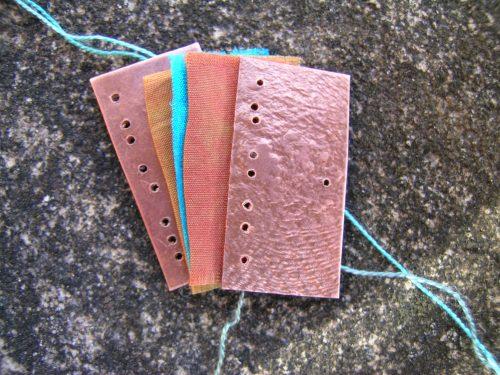 Silk and gilding metal book locket 3