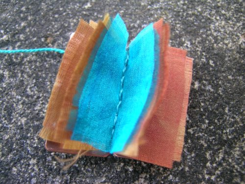 Silk and gilding metal book locket 8