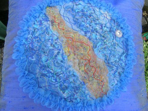 Fused fabric cushion 2