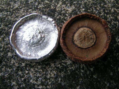 Silver acorn cup 2