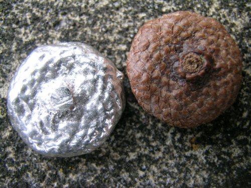 Silver acorn cup 3