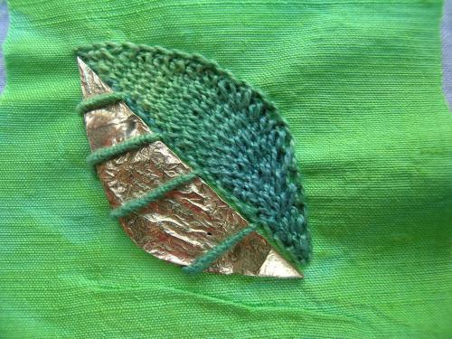 Leaf pendant 2