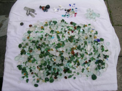 Seaham sea glass 1