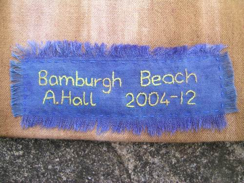 Completed Bamburgh Beach Wallhanging 3