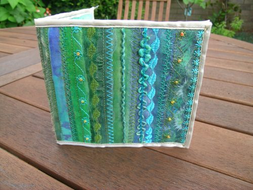 Turquoise journal cover 7
