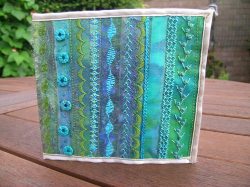 Turquoise journal cover 6