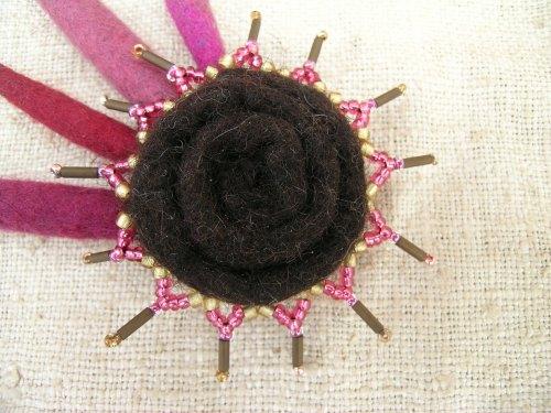 Starburst brooch 2