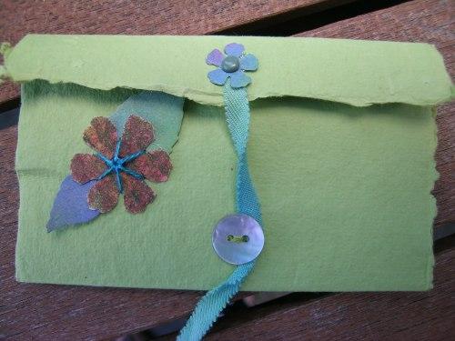 Turquoise Cornish journal 4