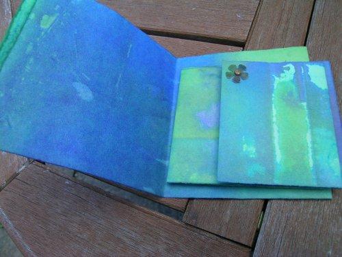 Turquoise Cornish journal 6