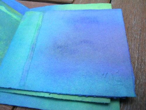 Turquoise Cornish journal 7