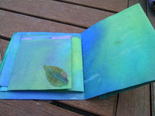 Turquoise Cornish journal 9