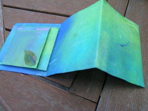 Turquoise Cornish journal 10