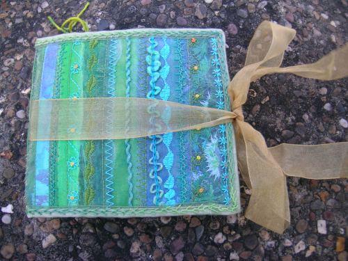 Turquoise Cornish journal 16