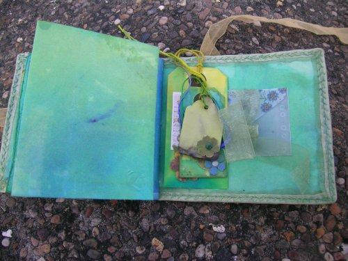 Turquoise Cornish journal 12