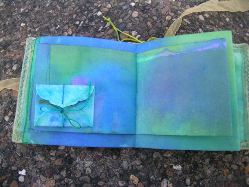 Turquoise Cornish journal 13