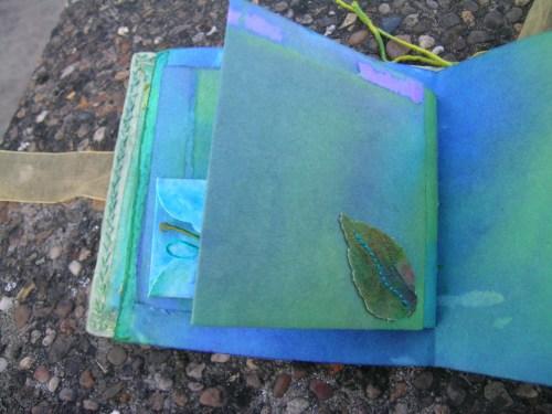 Turquoise Cornish journal 14