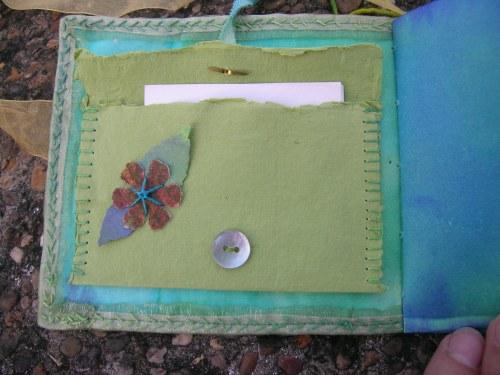 Turquoise Cornish journal 15