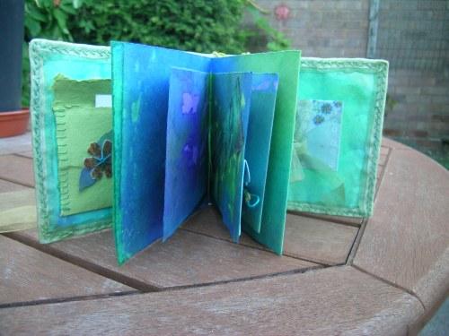 Turquoise Cornish journal 11