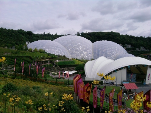 The Eden Project August 2013