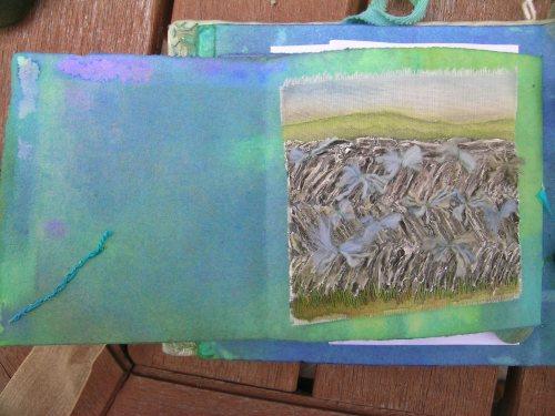 Cornish slate wall 6
