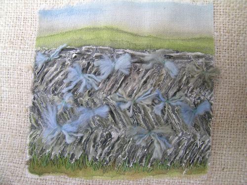 Cornish slate wall 1