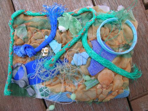 Beach debris 1