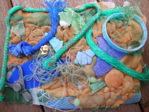 Beach debris 7