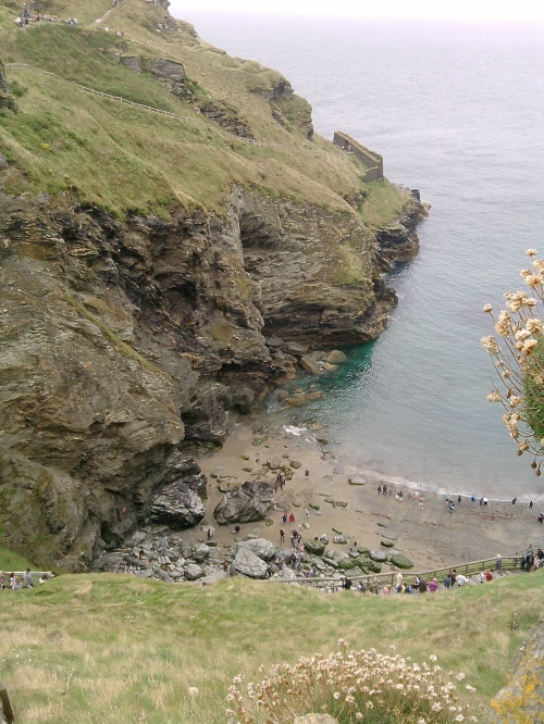 Tintagel beach 1