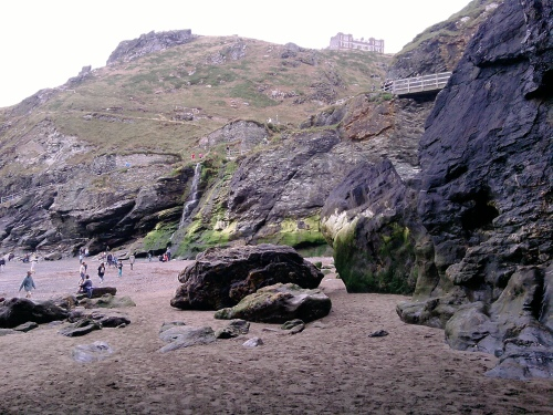 Tintagel beach 2