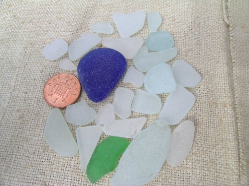 Southwold beach glass 8.13