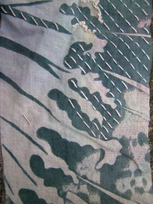 Hokusai inspired screen print 5