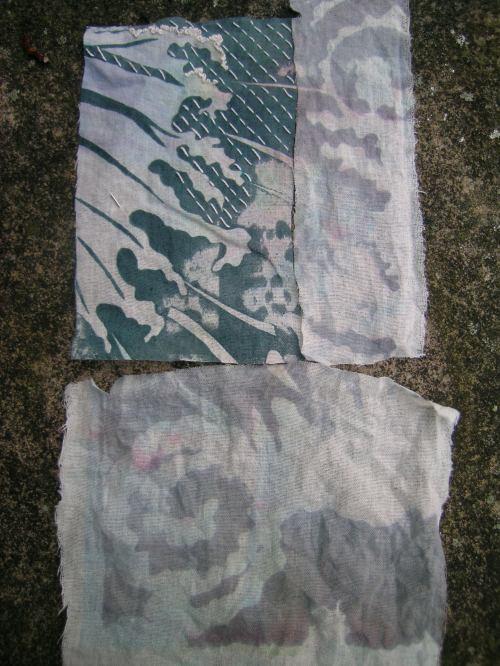 Hokusai inspired screen print 4