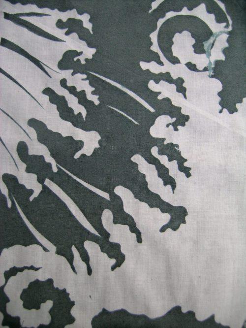 Hokusai inspired screen print 2