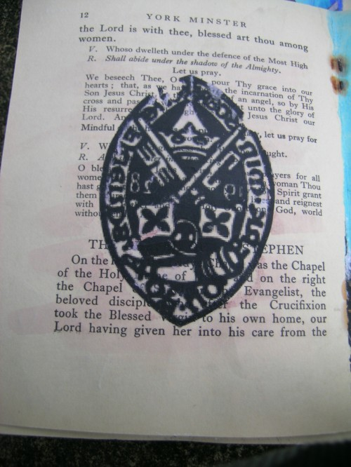 York See seal transfer print