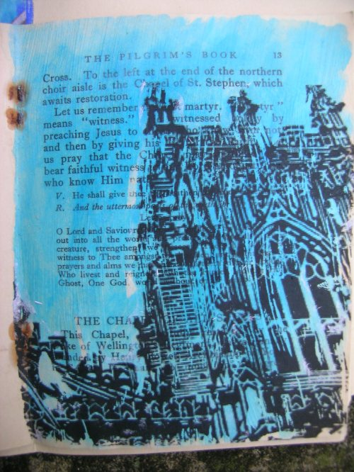 York Minster transfer print