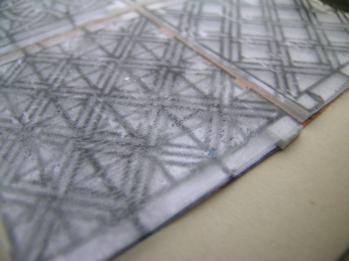 Geometric glass pattern transfer 1